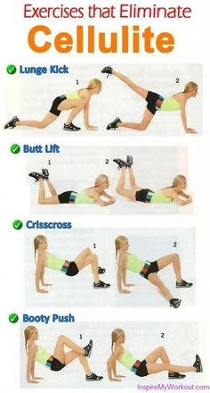 Exercises That Eliminate Cellulite