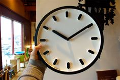 "MAGISの掛け時計""Tempo"" Wall Clocks, Workshop, Clocks, Watches, Atelier, Shop Class, Work Shop Garage, Clock Wall"