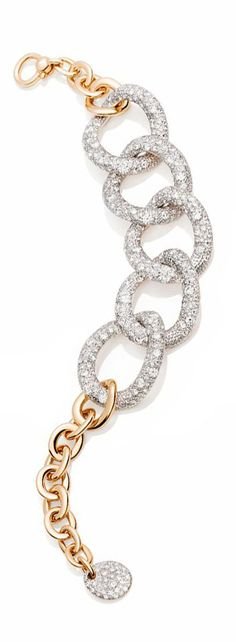 Love, LOVE, LOVE!!!-Pomellato ~ Tango Collection bracelet with white diamonds