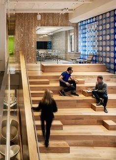 Pandora Media New York Office | Looks like the Google office in the Internship
