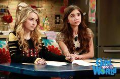 "#GirlMeetsWorld 1x04 ""Girl Meets Father"" - Maya and Riley"