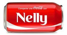 Comparte una Coca Cola con tu nombre, compártela con tus amigos