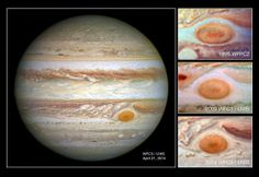 Jupiter's Great Red Spot is smaller than ever seen before | The Archaeology News Network