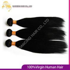 Bulk 6A Ms Lula Indian Unprocessed Virgin Straight Hair 4bundles/lot Mix Length 8-30'' Cheap Natural Remy Human Hair Extension $56.93 - 217.43