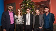 Emma Stone Damien Chazelle Discuss 'La La Land' Secrets at London Event  The Hollywood Reporter co-hosted a special screening and panel discussion in the English capital.  read more
