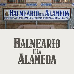 Balneario de la Alameda. Valencia