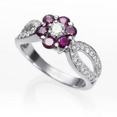 Diamond Diseño Clásico Diamante Talla Redonda Set Nupcial Anillo 2.25 Ct 18ct Oro Jewelry & Watches