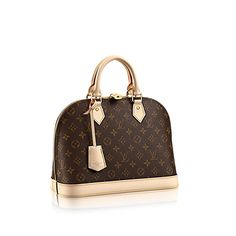 Discover Louis Vuitton Alma PM  The most structured of the iconic Louis  Vuitton handbags. d24881831af3e