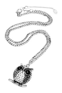 Small Owl Pendant Necklace by Amrita Singh on @nordstrom_rack
