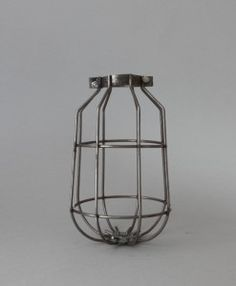 Cage Light Shades for Industrial-style Light Fittings