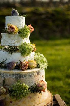 Esme Cheese Wedding Cake