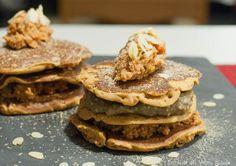 vegan pancakes, savory, gluten free, gluten-free