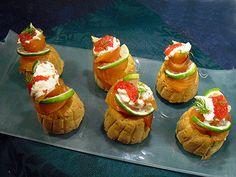 Cupcakes au saumon=