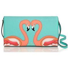 kate spade new york Kate Spade Strut Your Stuff Flamingo Applique Cali