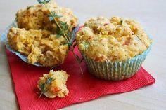 muffin salati prosciutto e pomodori secchi