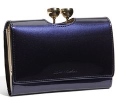 ted baker bobble kisslock small patent leather clutch wallet Ted Baker ...