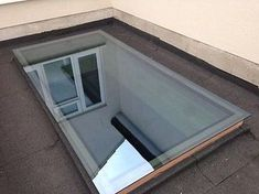 Details about Skylight Roof Lantern Glass Flat Rooflight Double Glazed Many Sizes Porch Roof, Roof Window, Shed Roof, House Roof, Flat Roof Skylights, Shed Design Plans, Moderne Pools, Roof Extension, Extension Ideas