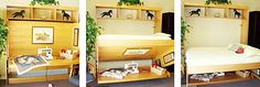 Murphy Wall Bed – With a table in front