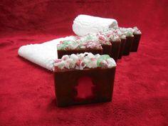 Gingerbread Men SOAP LOAF Handmade by CindysBathCreations on Etsy