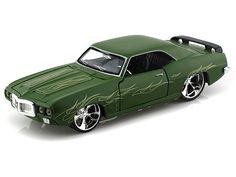 1969 Pontiac Firebird 1/24 Green