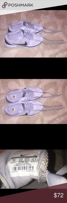Nike Sneakers  Youth Size 5 ▶️ Heather Gray ▶️ Flex2015run Nike Shoes Sneakers