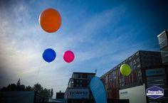 Jätti-ilmapalloja ulkotapahtumassa