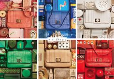 Photos courtesy of Anya Hindmarch  The Mini Grace bag in a color grid