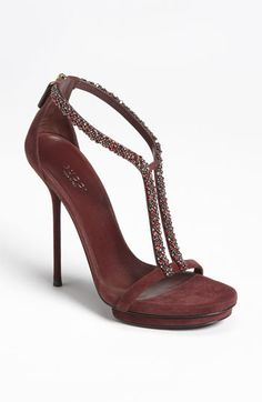 Gucci 'Naomi' Sandal #Shoes #Heels #Gucci