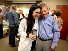 'She needed it more than I did': Transplant patients celebrate new lease on life