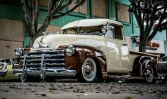 Chevy truck Classic Chevy Trucks, Sick, Antique Cars, Vehicles, Vintage Cars, Car, Vehicle, Tools