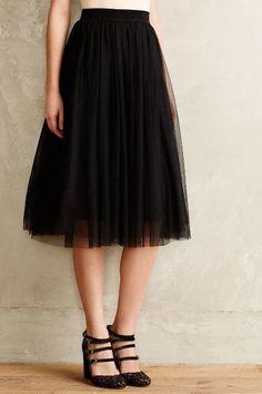 Tulle Midi Skirt - anthropologie.com #anthrofave