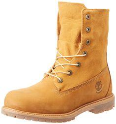 Timberland Teddy Fleece Fold Down Boot - Wheat - Women's