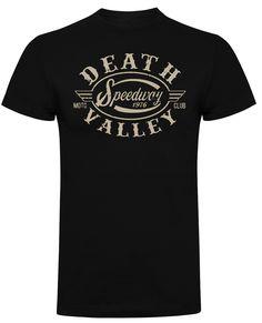 Death Valley Speedway T-Shirt (Black) Death Valley, Hot, Cotton, Mens Tops, T Shirt, Clothes, Black, Fashion, Supreme T Shirt