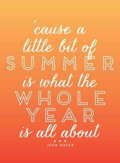 Summer Baby! :) xo