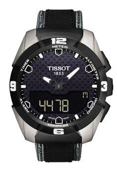 Reloj Cro Tissot Titanium T-Touch Expert Solar T0914204605101