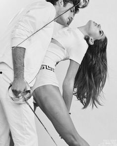 #fashion #saber #couple #kiss #fencing by onepoint.co