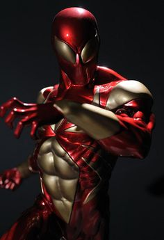 3D Spiderman - love this Iron Spider, too bad Spidey doesn't trust Tony Stark any more.