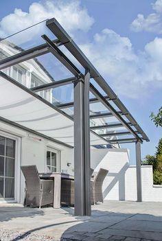 terrassenüberdachung mit sonnenschutz, terrassendach, vordach