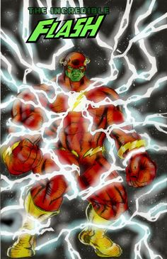 #Hulk #Fan #Art. (Flash Hulk) By:RobertCecil. ÅWESOMENESS!!!™ ÅÅÅ+