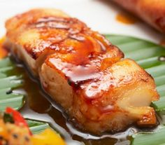 Sweet Asian Style Cod Recipe in a Sticky Honey Sauce | AmazingSeafoodRecipes