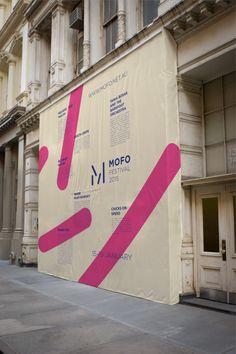 Hoarding Graphic Idea - MOFO Festival