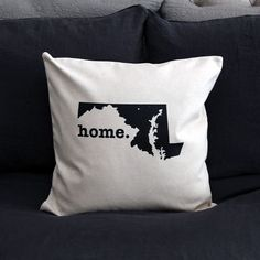 The Maryland Home Pillow is the perfect way to show off your state pride in your home, while also helping to raise money for multiple sclerosis research. This e