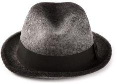 9127bd11a0ecf Paul Smith grosgrain trim trilby hat on shopstyle.com Trilby Hat