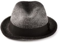cd8689a5a0abb Paul Smith grosgrain trim trilby hat on shopstyle.com Clothes 2018