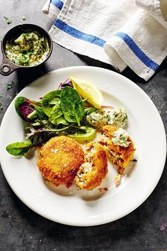 The special ingredient is pink peppercorns! Salmon Capers, Barry Humphries, Rick Stein, Fishcakes, Delicious Dinner Recipes, Breakfast, Pink, Food, Morning Coffee