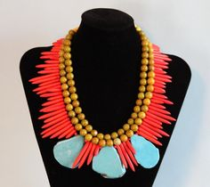 Turquoise Vintage II by NobleHouseDesigns on Etsy, $200.00