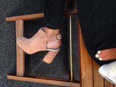Spring/summer high heels