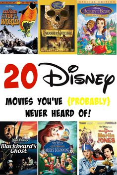 Wow - new Disney movies to watch. I'm going to start buying these to watch!