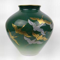 Items similar to Japanese porcelain vase - Koransha / Fukagawa - Arita ware on Etsy Porcelain Jewelry, Fine Porcelain, Porcelain Ceramics, Ceramic Vase, Ceramic Pottery, Painted Porcelain, Japanese Vase, Japanese Porcelain, Japanese Ceramics