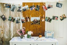 photograph guestbook table ideas